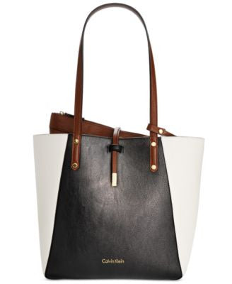 Calvin Klein Bag-in-Bag Medium Reversible Colorblock Tote