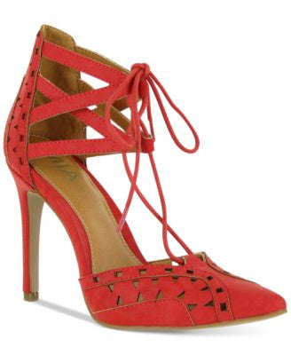 Mia Melonie Lace-Up Pumps