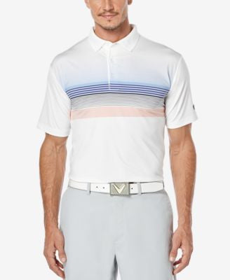 Callaway Men's Multi-Striped Golf Polo