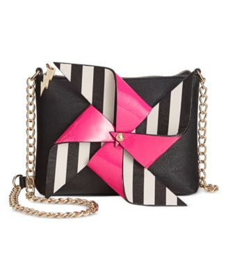 Betsey Johnson Pinwheel Crossbody