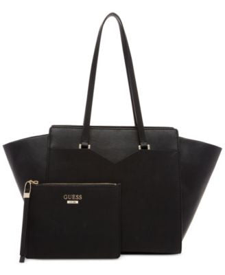 GUESS Bryanna Privy X-Large Tote with Pouch, A Vogily Exclusive Style