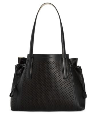 French Connection Nadia Perforated Tote