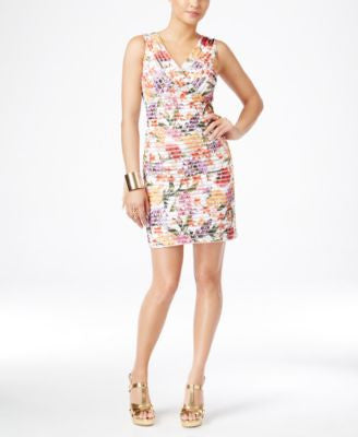 Thalia Sodi Floral-Print Sheath Dress, Only at Vogily