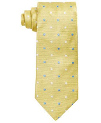Brooks Brothers Men's Polka-Dot Textured Classic Tie