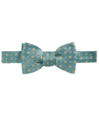 Brooks Brothers Men's Parquet Flower To-Tie Bow Tie