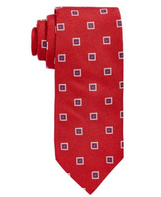 Brooks Brothers Men's Square Medallion Classic Tie