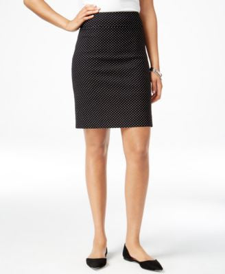 Charter Club Dot-Print Pull-On Skort, Only at Vogily