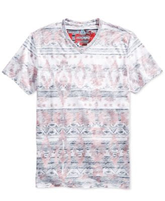 American Rag Men's Southwestern Print T-Shirt, Only at Vogily