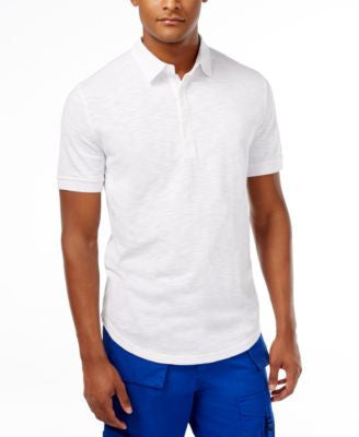 Sean John Men's Lightweight Linen Slub Polo