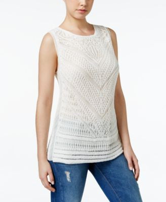 Lucky Brand Crocheted Tank Top
