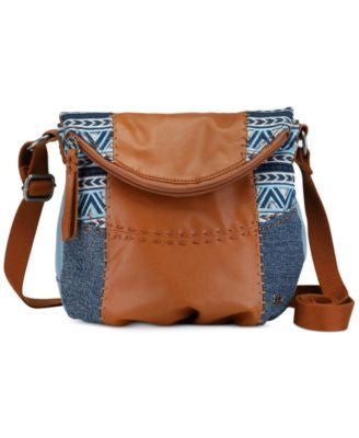The Sak Deena Small Leather Crossbody
