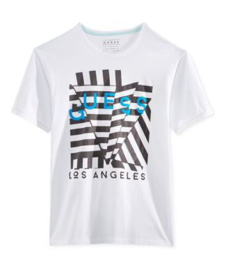 GUESS Men's Origami Graphic-Print Logo T-Shirt