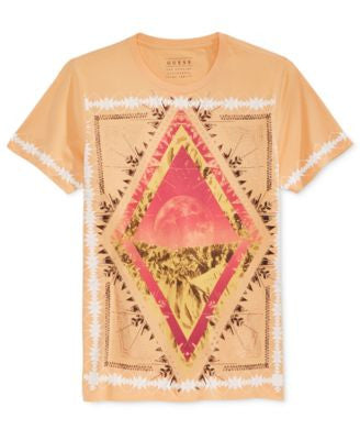 GUESS Men's Moonrise Graphic-Print T-Shirt