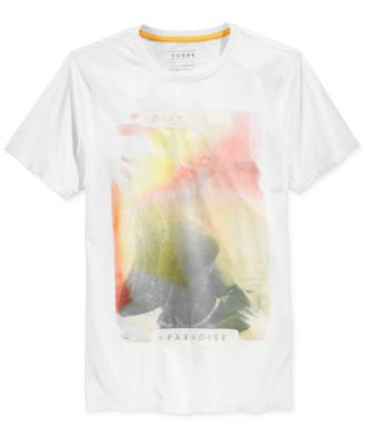 GUESS Men's Paradise Graphic-Print T-Shirt