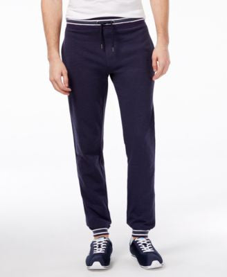 Armani Jeans Men's Banded Stripe Joggers