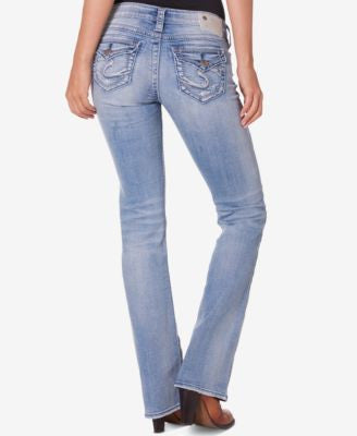 Silver Jeans Co. Tuesday Indigo Wash Bootcut Jeans