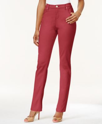 Lee Platinum Gwen Classic Fit Straight-Leg Jeans, Colored Wash