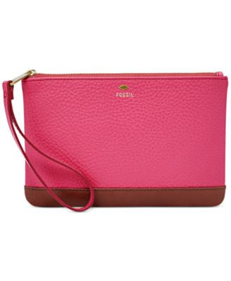 Fossil Mother's Day Leather Wristlet