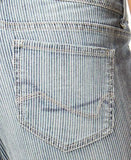 Vintage America Railroad Cropped Jeans