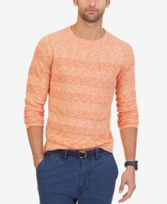 Nautica Men's Striped Crew-Neck Sweater