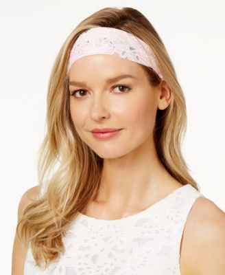 Josette Flower Burnout Headwrap