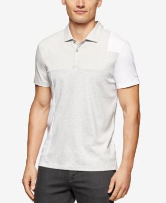 Calvin Klein Men's Colorblocked Interlock Polo
