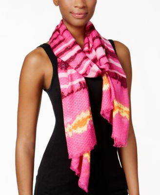 INC International Concepts Tie Dye Dreams Pashmina Wrap, Only at Vogily