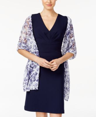 Style & Co. Damask Lace Wrap, Only at Vogily