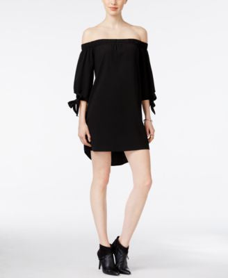 Bar III Off-The-Shoulder Shift Dress, Only at Vogily