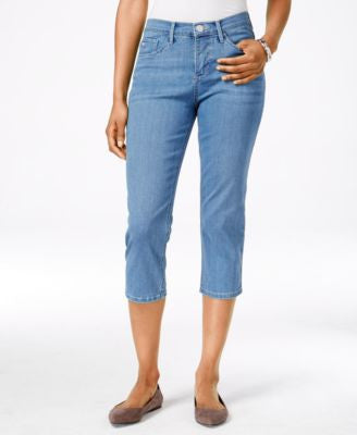 Lee Platinum Harmony Fade Out Wash Cropped Jeans