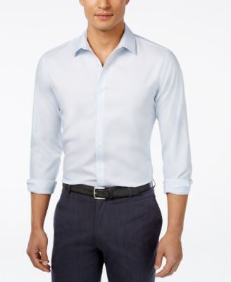 INC International Concepts Men's Kurt Non-Iron Shirt, Only at Vogily