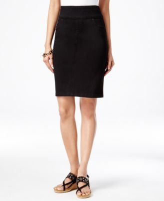 Style & Co. Petite Pull-On Pencil Skirt, Only at Vogily