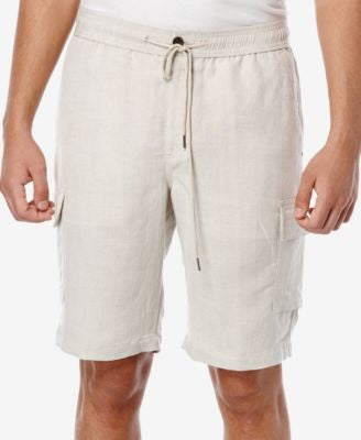 Cubavera Men's Big and Tall Drawstring Cargo Shorts