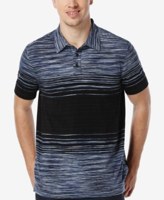 Perry Ellis Men's Space-Dye Polo