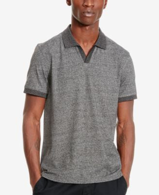 Kenneth Cole Reaction Men's Heathered Contrast Polo