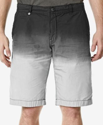 Buffalo David Bitton Men's Havlit Dip-Dye Poplin Shorts