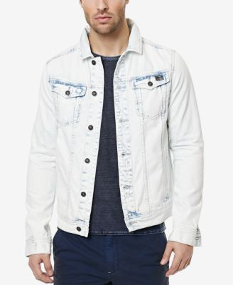 Buffalo David Bitton Men's Joe Denim Trucker Jacket