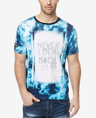 Buffalo David Bitton Men's Napalm Tie-Dye Graphic-Print T-Shirt