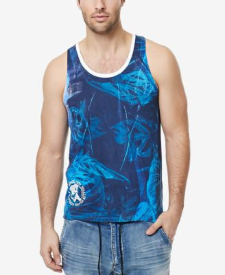 Buffalo David Bitton Men's Nawave Graphic-Print Tank