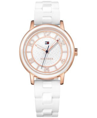 Tommy Hilfiger Women's Everyday Sport White Silicone Strap Watch 36mm 1781670