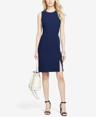 Lauren Ralph Lauren Sleeveless Sheath Dress