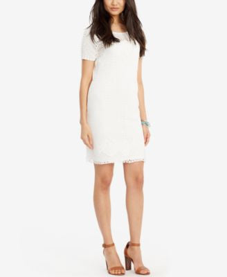 Lauren Ralph Lauren Crochet Cotton Dress