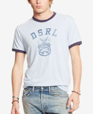 Denim & Supply Ralph Lauren Men's Jersey Graphic Ringer T-Shirt