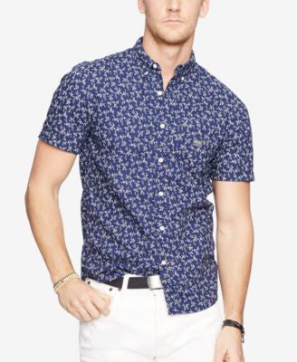 Denim & Supply Ralph Lauren Men's Floral-Print Sport Shirt