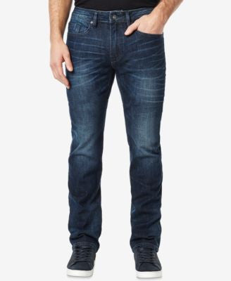 Buffalo David Bitton Men's Six-X Slim-Straight-Fit Stretch Dark Wash Jeans