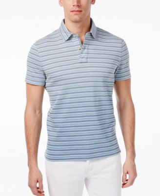 Tommy Hilfiger Men's Abraham Stripe Polo