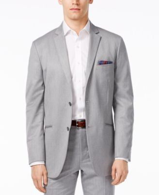 Alfani Men's Classic Fit Gray Sport Coat, Only at Vogily