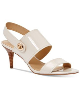 COACH Marla Two-Piece Turnlock Dress Sandals