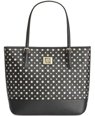 Anne Klein Perfect Tote Perforated Saffiano Large Tote