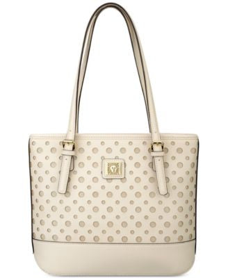 Anne Klein Perfect Tote Perforated Saffiano Small Shopper